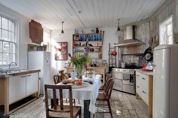 Shabby-chic Style Kitchen by Bruce Hemming Photography