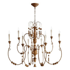 Quorum Lighting 6206-9-94 Chandeliers French Umber Salento
