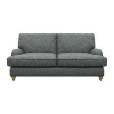 Prague 2-Seater Sofa, Grey
