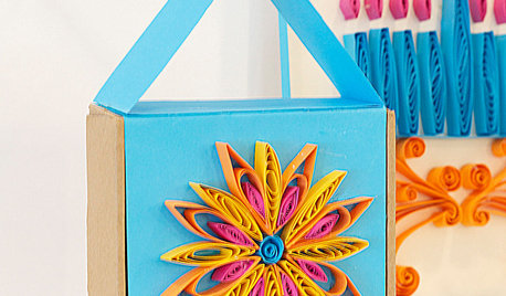 DIY: Colorful Hanukkah Crafts Shine a New Light on Quilling