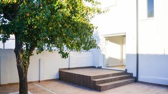 Vivienda patio peral