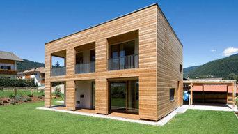 Holzhäuser mit Holz100 gebaut