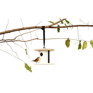 Utoopic Bird and Breakfast Birdhouse by Andreu Carulla