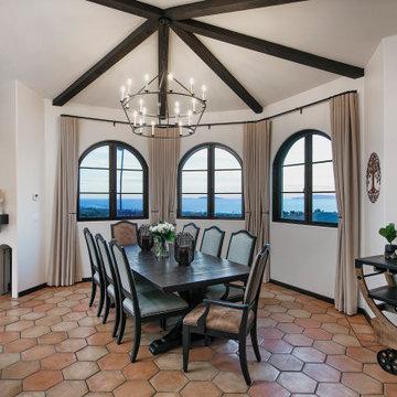 Hilltop Spanish Mediterranean Home
