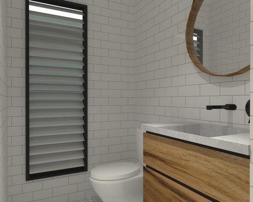 Foton och inspiration för toaletter, med bänkskiva i betong och ... : toaletter betong : Inredning