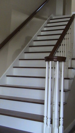 Hardwood Stairs With No Runners