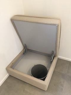 trappe linge vestiaires armoires linge linge sale avec trappe de visite ampel trappe pour. Black Bedroom Furniture Sets. Home Design Ideas