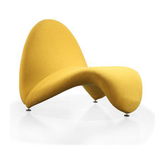 Ceets Louvre Leisure Chair Yellow Armchairs And Accent Chairs