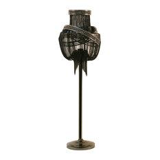 Clara Floor Lamp, Black