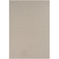 """Contemporary Breeze 5'3""""x7'6"""" Rectangle Ivory-Charcoal Area Rug"""