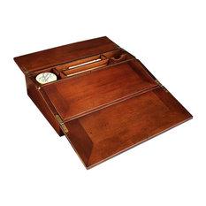 authentic models campaign lap desk u0026 writing set desks and hutches