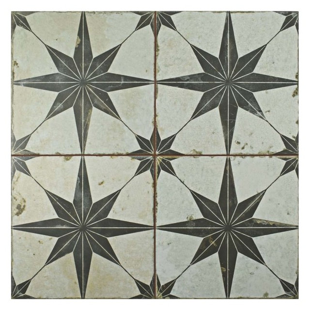 "17.75""x17.75"" royals ceramic floor/wall tiles - contemporary - wall"