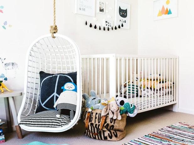 gem tliche leseecke f r ein kinderzimmer im skandinavischen stil. Black Bedroom Furniture Sets. Home Design Ideas