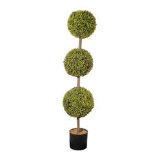 "48"" Boxwood 3 Ball Topiary"