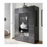 Miro (grey) 2 door display unit