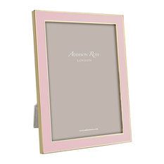 Addison Ross Pastel Pink & Gold Picture Frame, 5x7