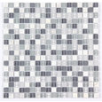 "12""x12"" Stone and Co Mosaic Glass and Stone Mix Glass Mosaic Tile"
