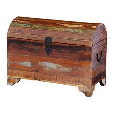 VidaXL Reclaimed Solid Wood Storage Chest