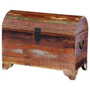 VidaXL Reclaimed Solid Wood Storage Chest