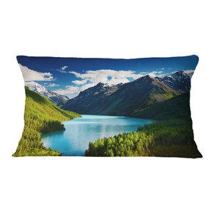 Designart CU8989-20-20-C Dark Sunset at Livorno Landscape Photo Round Cushion Cover for Living Room Sofa Throw Pillow 20