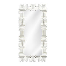 Catalina Wall Mirror, Clear Finish