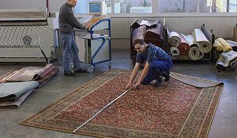 Vorbereitung der Teppichwäsche
