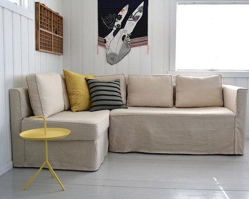Fagelbo Slipcover Loose Fit Linen fort Works Custom