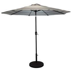 Contemporary Outdoor Umbrellas by Pebble Lane Living
