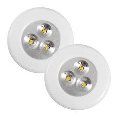 Lite-N-Up LED Utility Light, White 35 Lumens Warm 3000k, 2 Pack