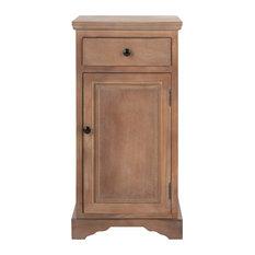 Safavieh Jett Storage Cabinet, Washed Natural Pine