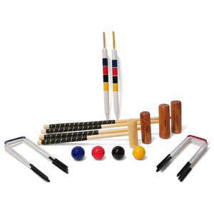 Uber Games Family Croquet Set, 4-Player