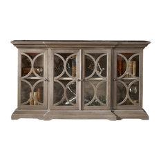 Uttermost 25629  Belino Wooden 4 Door Chest