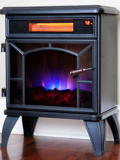 Strange Duraflame Freestanding Infrared Electric Fireplace With Beutiful Home Inspiration Xortanetmahrainfo