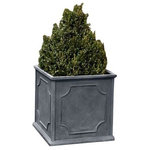 Campania International - Campania International Fiber Clay XL Cumberland Sq Planter - While they are considered frost-resistant, these lightweight containers should be brought in during the winter and stored in a covered, frost-free location away from the elements.Dimensions : Length : 25.98 Height : 25.98 Width : 25.98Materials: Fiber Clay