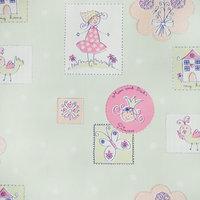 Little Princess Honeydew - Vinyl Self-Adhesive Wallpaper Prepasted Decor (Roll)