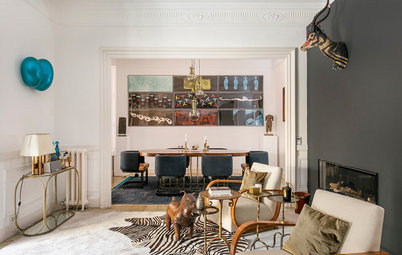 Spain Houzz Tour: An Art Collector's Grand Spanish Apartment