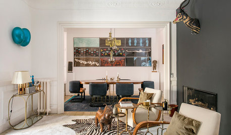 Barcelona Houzz Tour: An Art Collector's Grand Apartment
