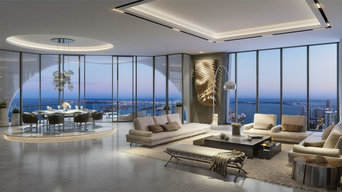 One Thousand Museum Penthouse by Zaha Hadid