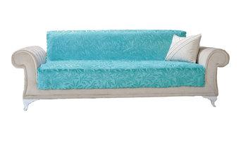 Chiara Rose Couch Covers for Dogs Sofa Cushion Slipcover Furniture Acacia, Turqu