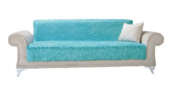 Luxury Home Hotel Acacia Furniture Protector, Turquoise, Sofa