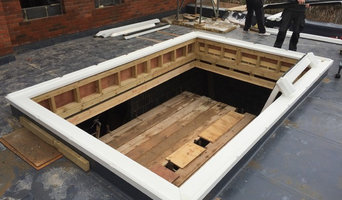 Installing a Hardwood Timber Roof Lantern