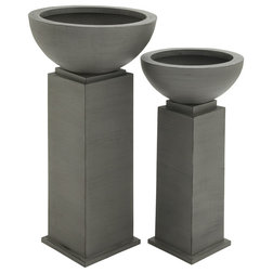 Modern Outdoor Pots And Planters by GwG Outlet