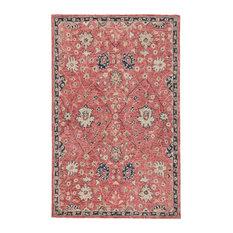Jaipur Living Emersen Handmade Oriental Red/Blue Area Rug, 9'x12'