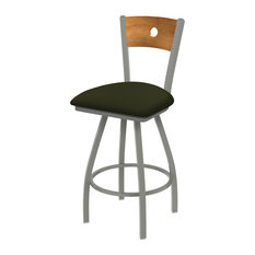 830 Voltaire 36-inch Swivel Counter Stool Medium Back And Canter Pine Seat