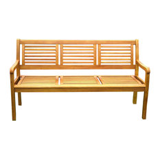 Most Popular Craftsman Outdoor Benches For 2018 Houzz