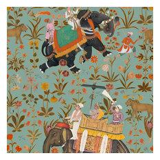 Hindustan Wallpaper, Blue