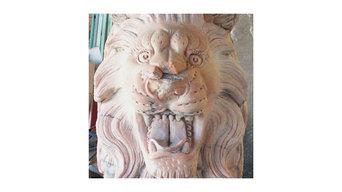Marble Lion Statue Restoration