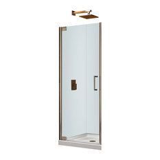 "DreamLine Elegance 32.25""-34.25"" Frameless Pivot Shower Door"