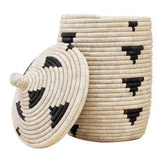 Contemporary Baskets Houzz