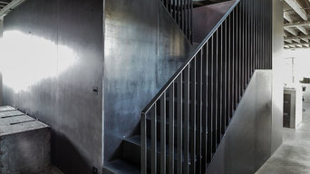 Raw Metal Staircase